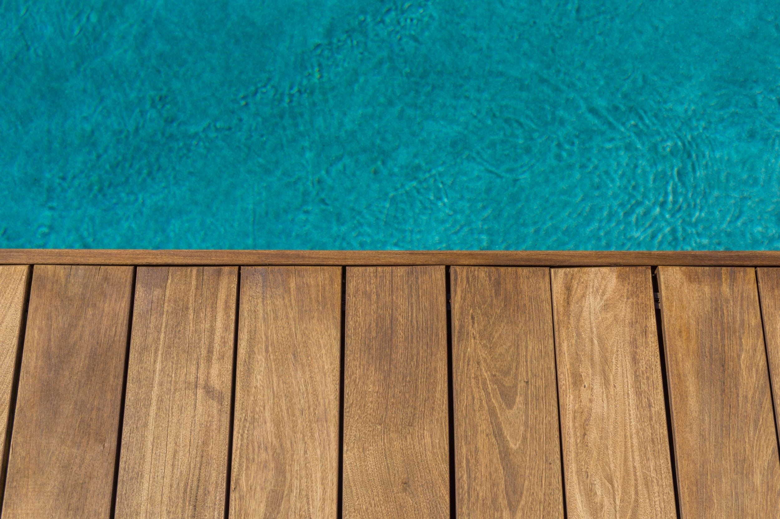 Ipe Deck around Pool